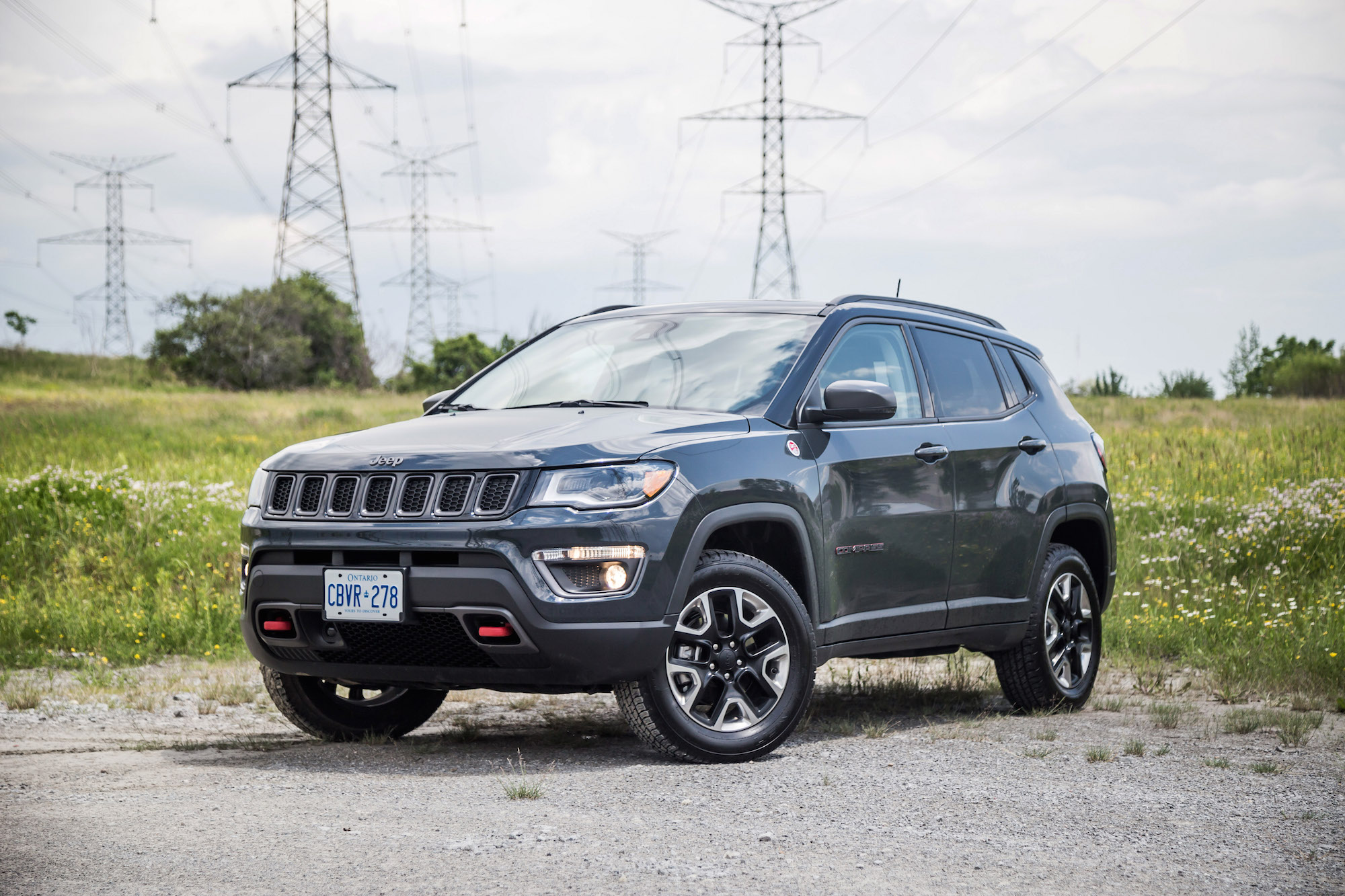 review 2017 jeep compass trailhawk canadian auto review. Black Bedroom Furniture Sets. Home Design Ideas