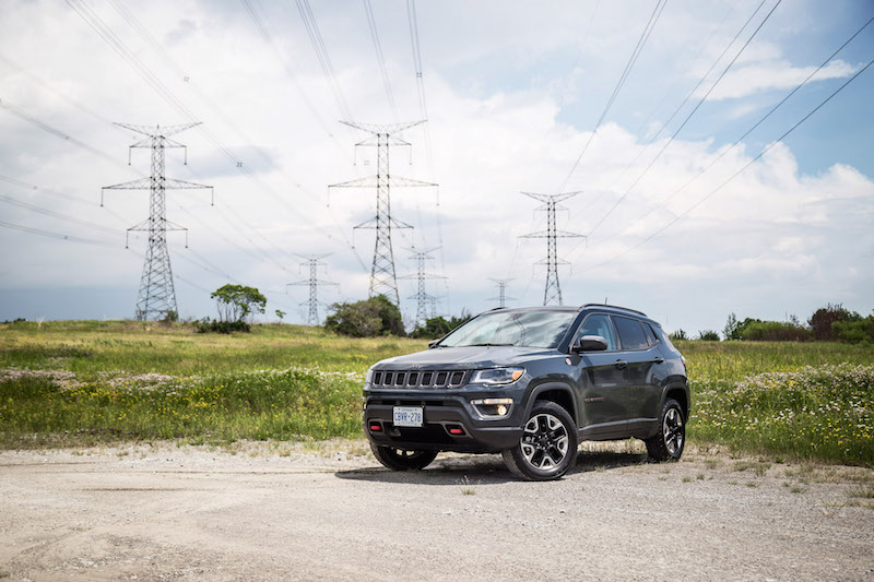 2017 Jeep Compass Trailhawk Rhino Gray paint colour