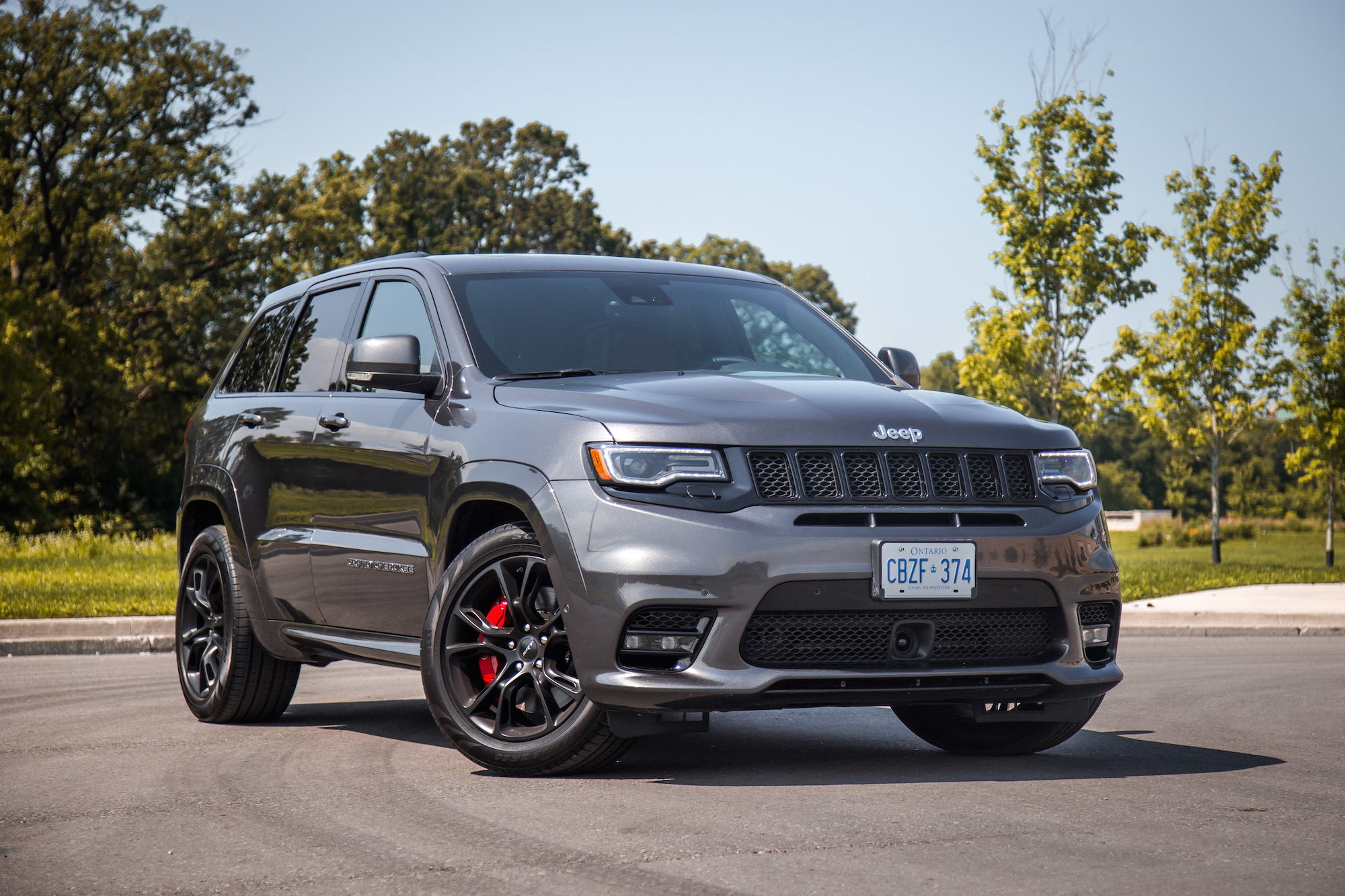 Marvelous 2017 Jeep Grand Cherokee SRT Canada Review