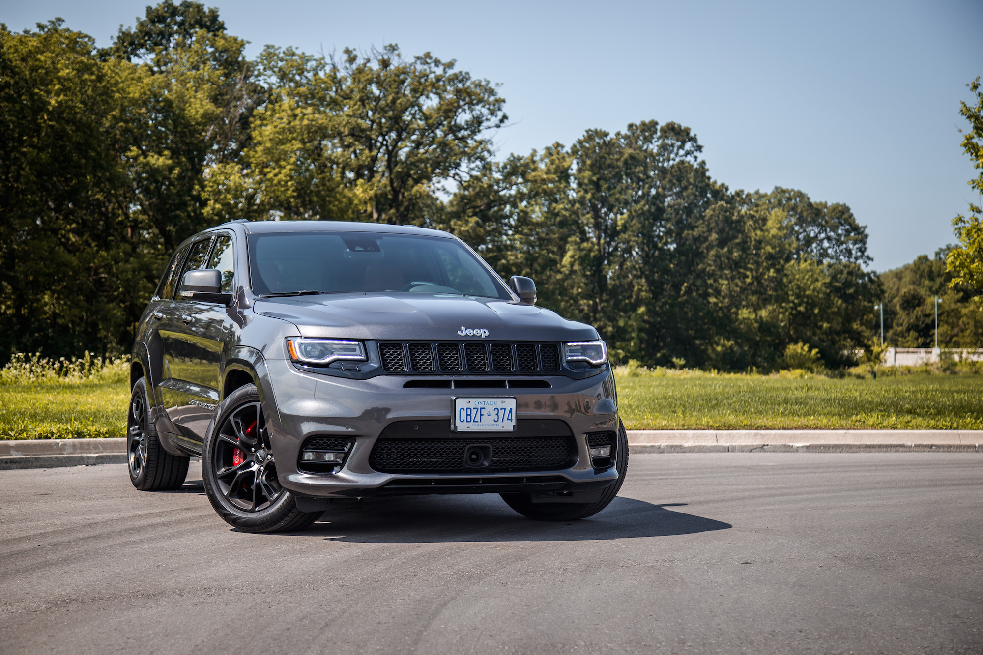 2017 Grand Cherokee Srt Interior >> Review: 2017 Jeep Grand Cherokee SRT | Canadian Auto Review