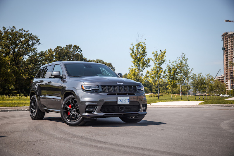 review 2017 jeep grand cherokee srt canadian auto review. Black Bedroom Furniture Sets. Home Design Ideas