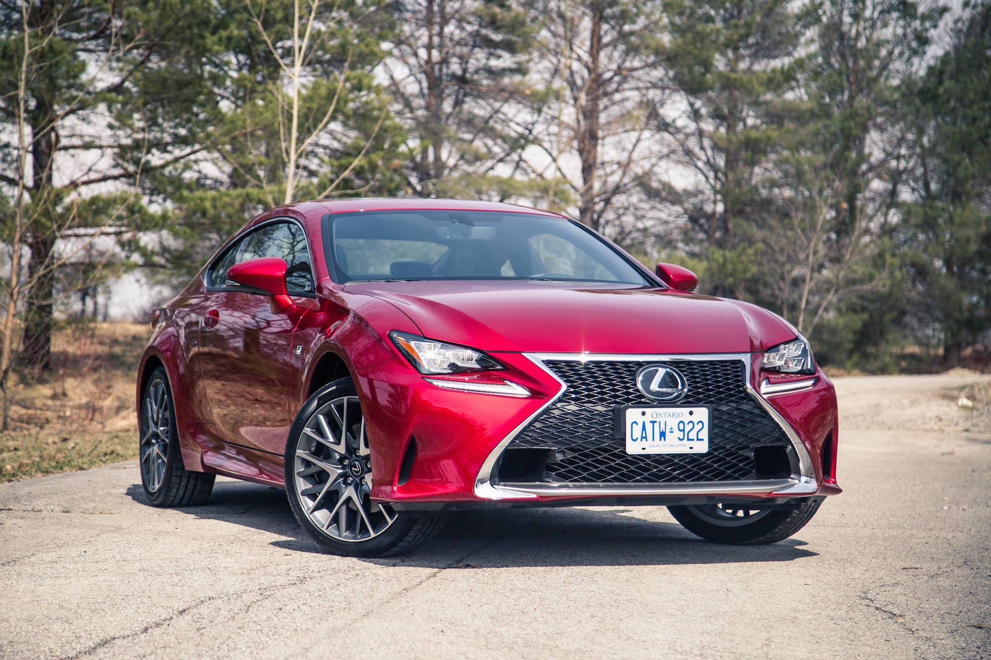 review 2017 lexus rc 350 awd canadian auto review. Black Bedroom Furniture Sets. Home Design Ideas