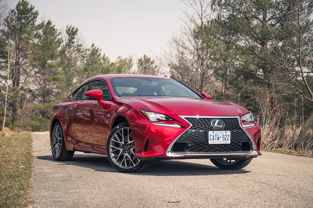 lexus rc coupe new for 2017