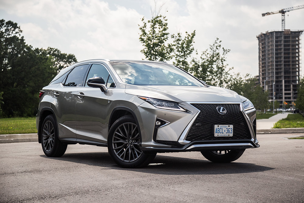 review  lexus rx   sport canadian auto review