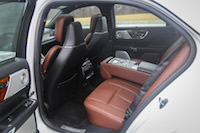 2017 Lincoln Continental Reserve AWD rear seat legroom
