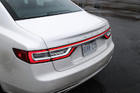 2017 Lincoln Continental Reserve AWD rear taillights
