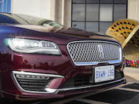2017 Lincoln MKZ Hybrid new front grill