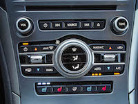 2017 Lincoln MKZ Hybrid hard buttons return