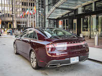 2017 Lincoln MKZ Hybrid rear design same
