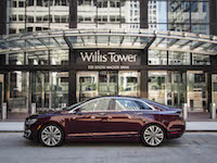 2017 Lincoln MKZ Hybrid willis tower