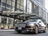 2017 Lincoln MKZ Hybrid new front style