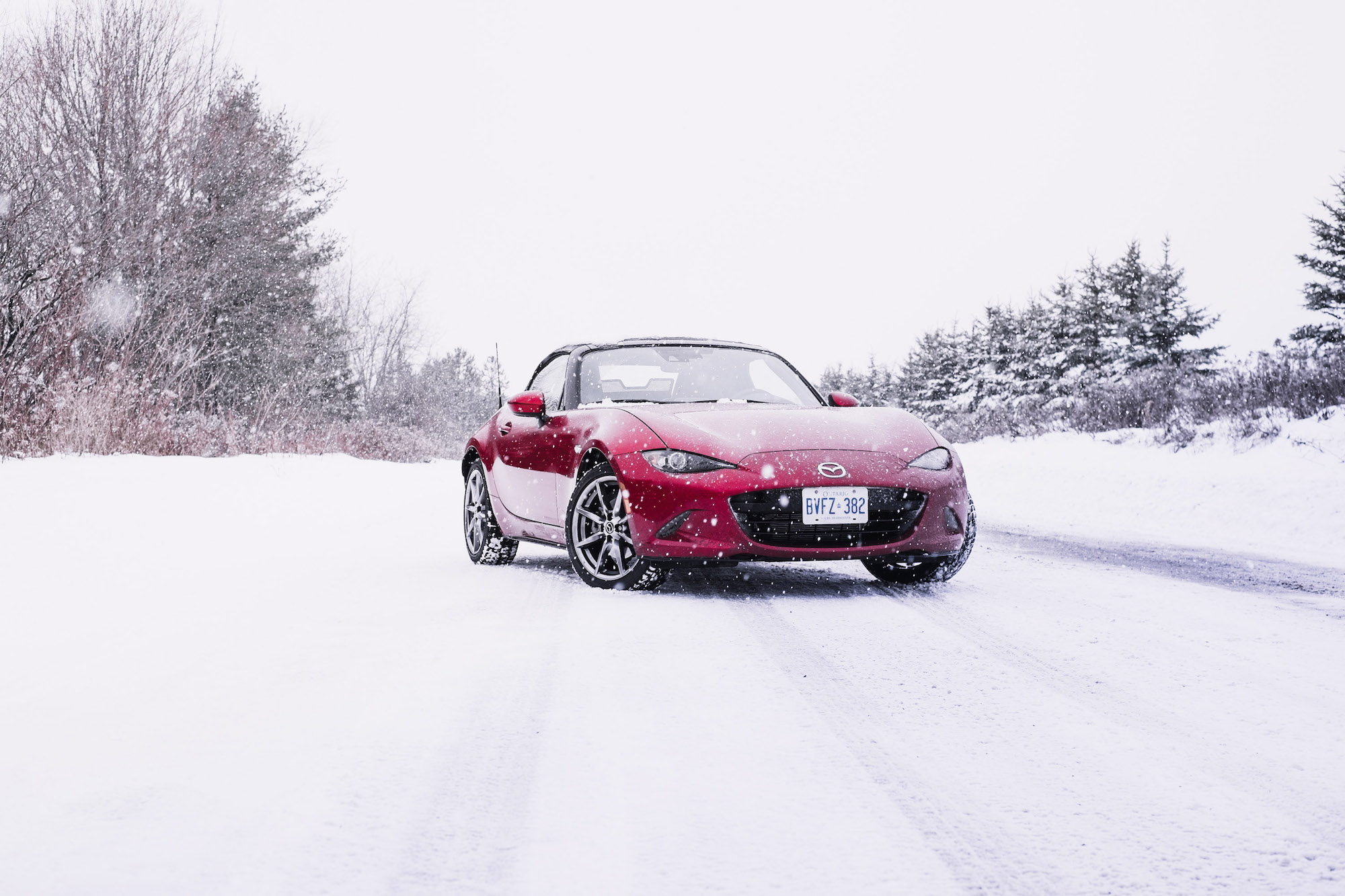 2017 mazda mx 5 gt with snow tires