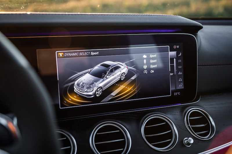 2017 Mercedes-AMG E43 sport mode selection