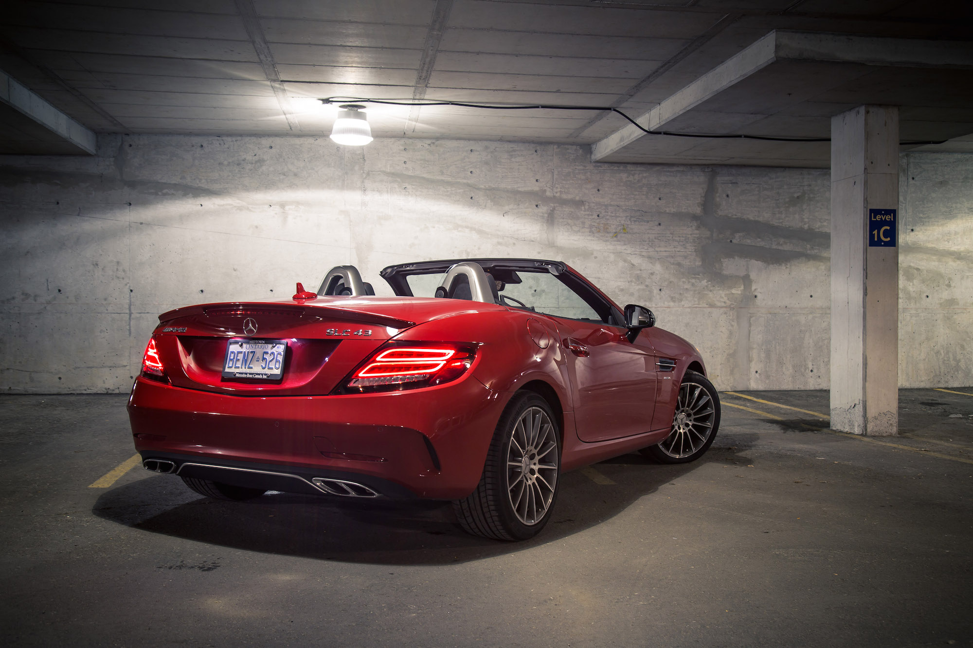 review 2017 mercedes amg slc 43 canadian auto review. Black Bedroom Furniture Sets. Home Design Ideas