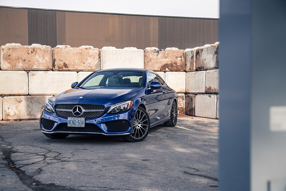 2017 Mercedes-Benz C Class Coupe canada review
