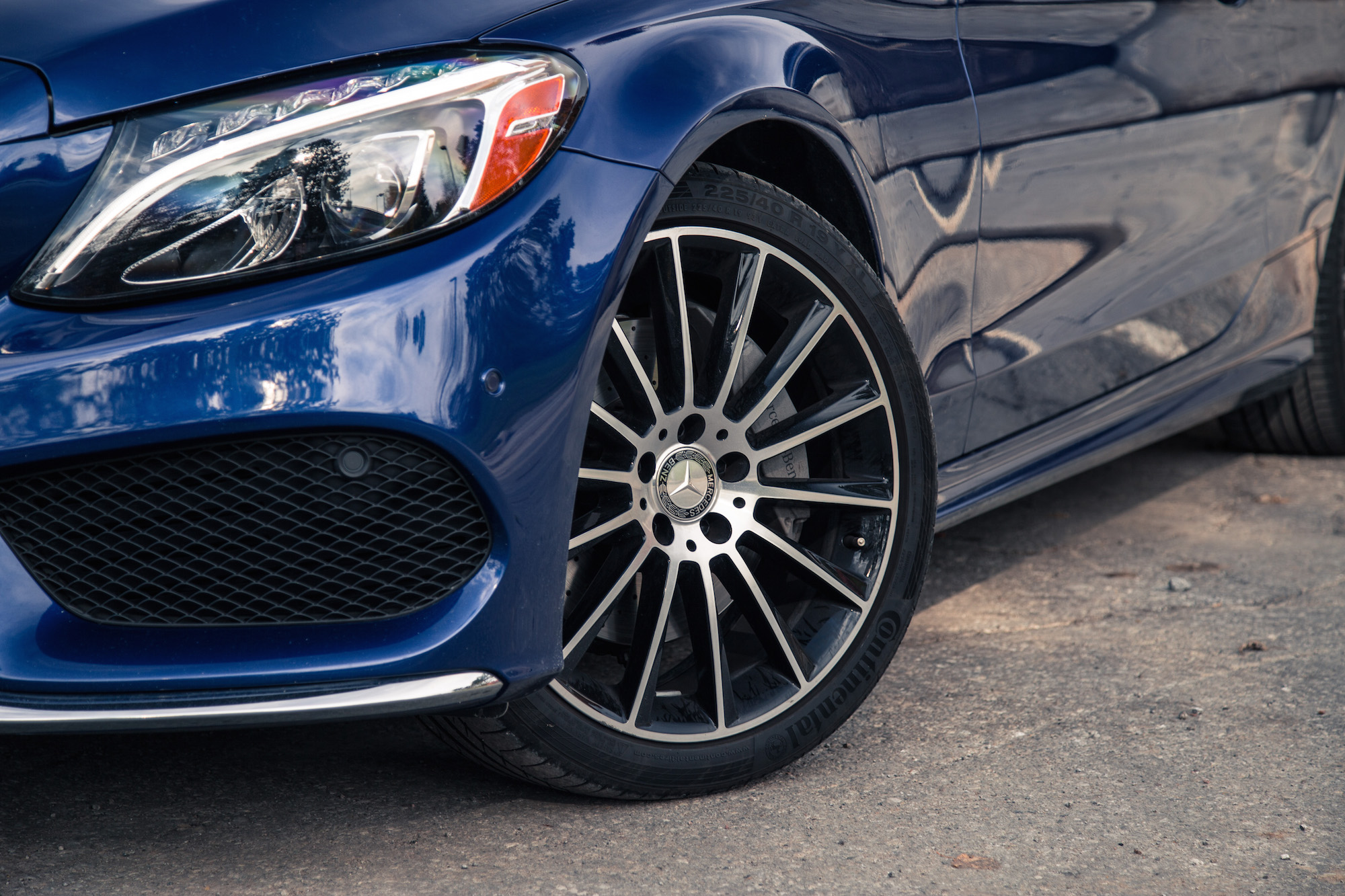 Review 2017 mercedes benz c 300 4matic coupe canadian for Mercedes benz 19 wheels