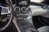 2017 Mercedes-Benz C Class Coupe center stack