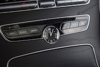 2017 Mercedes-Benz C Class Coupe analog clock
