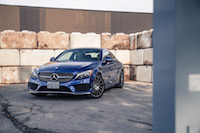 2017 Mercedes-Benz C Class Coupe sport package canada