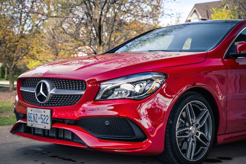 2017 Mercedes-Benz CLA 250 4MATIC new bumper front lights