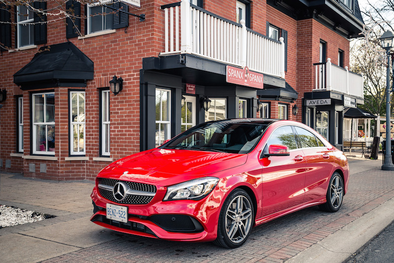 2017 Mercedes-Benz CLA 250 4MATIC changes for 2017