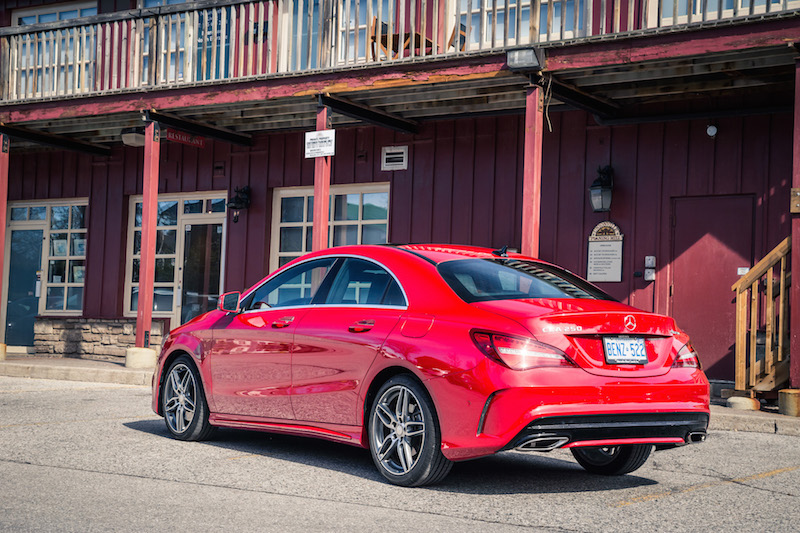 2017 Mercedes-Benz CLA 250 4MATIC canada