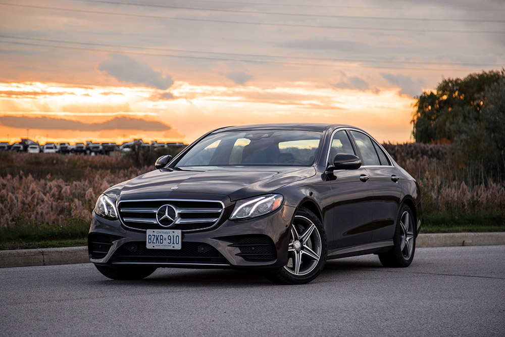 Review 2017 mercedes benz e 300 4matic canadian auto review for Best looking mercedes benz models