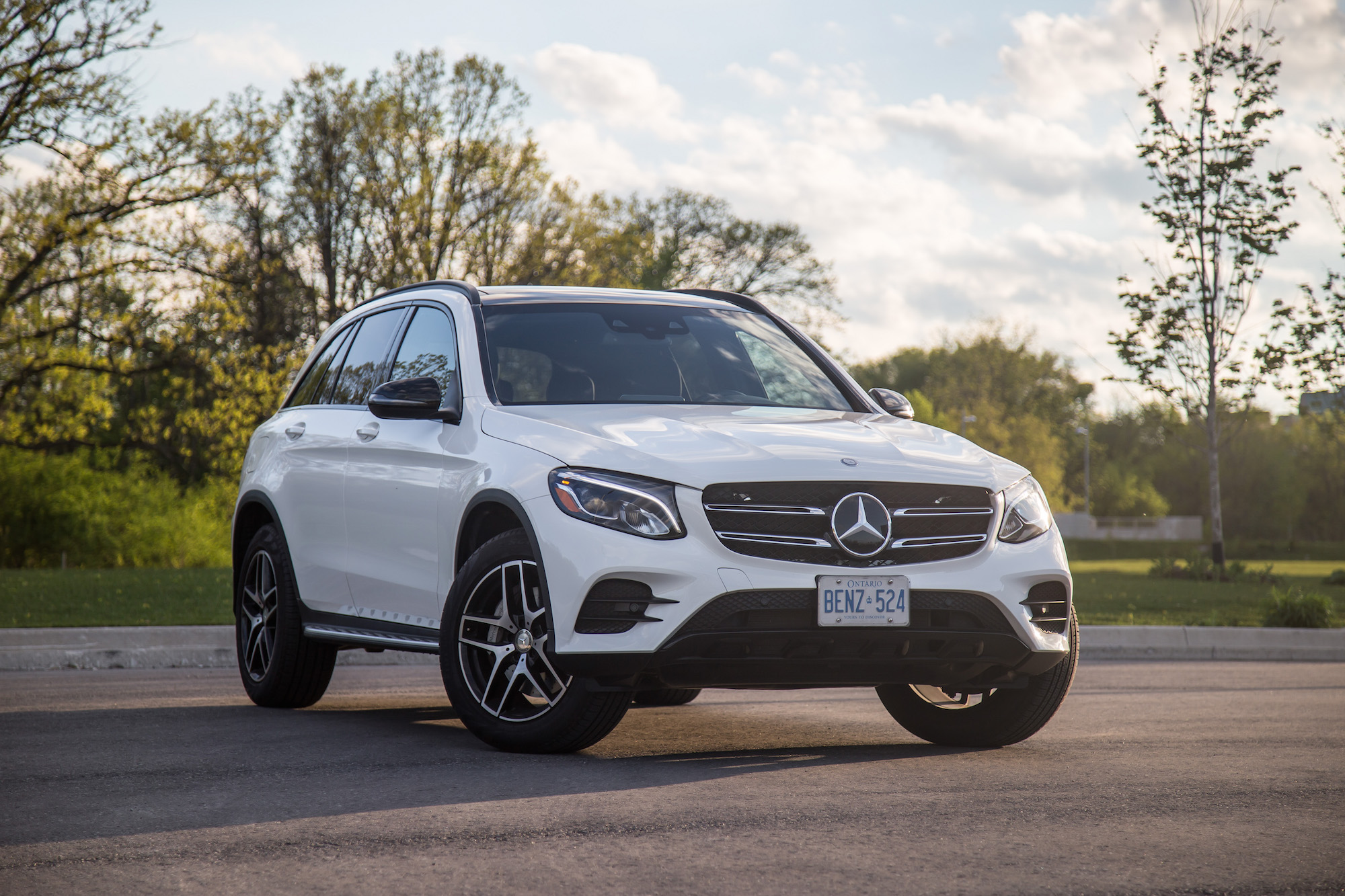 Review 2017 Mercedes Benz Glc 300 4matic Canadian Auto Review