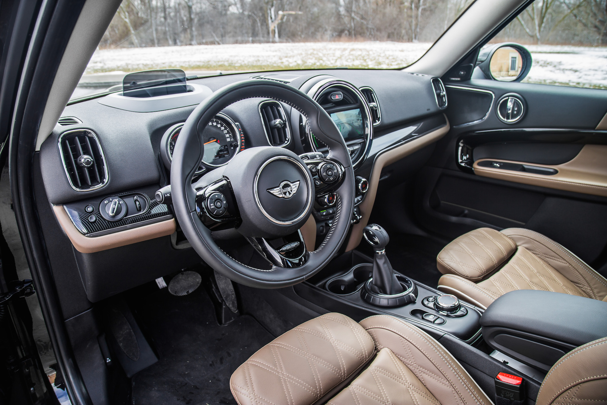 Mini cooper s countryman review autos post - Countryman interior ...