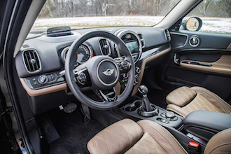 2017 MINI Cooper S Countryman interior