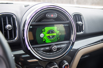 2017 MINI Cooper S Countryman new screen