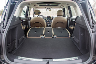 2017 MINI Cooper S Countryman trunk space