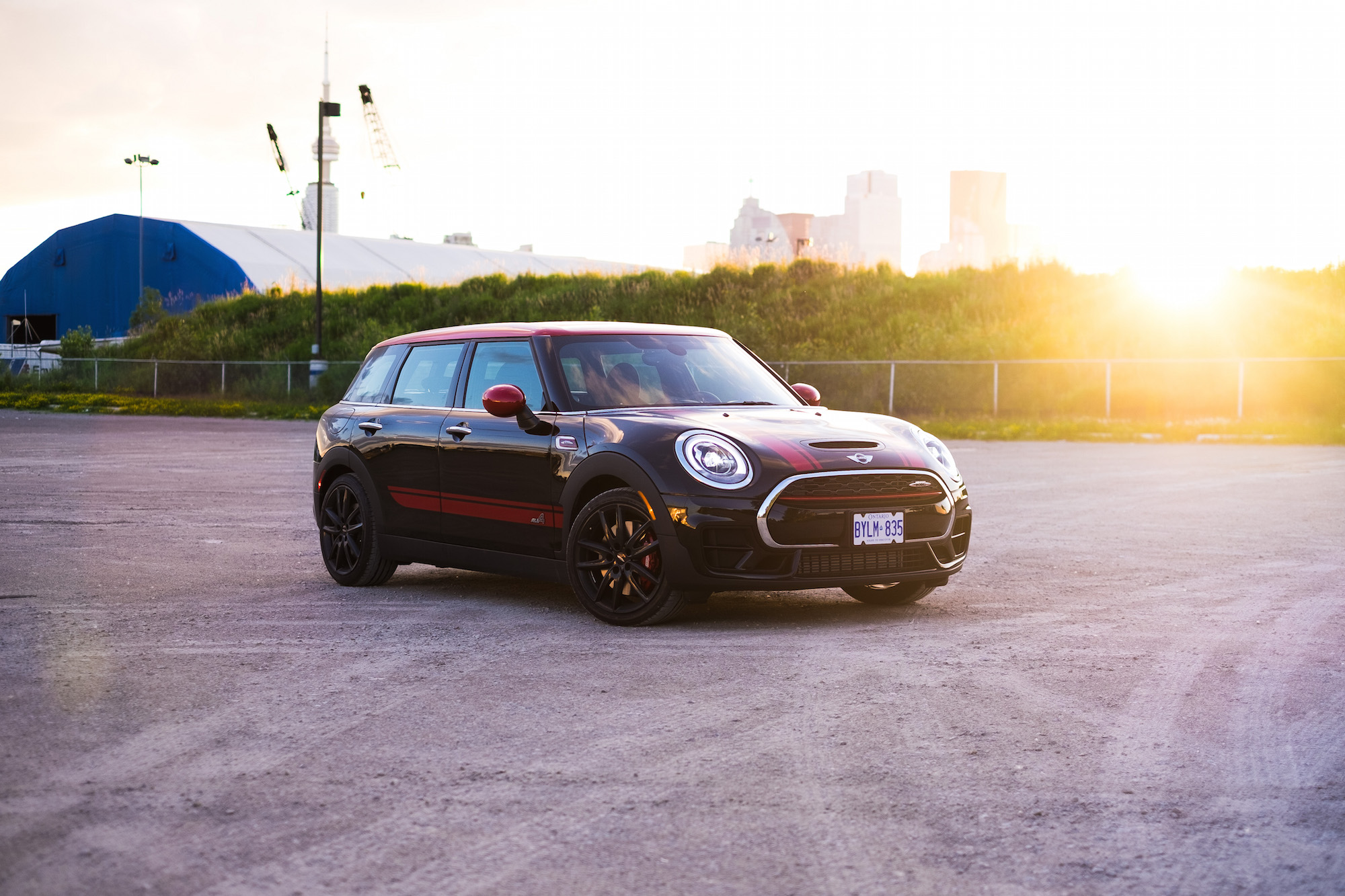 Review 2017 Mini John Cooper Works Clubman All4 Canadian Auto Review