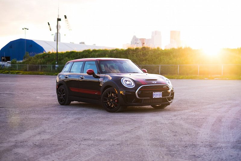 2017 MINI John Cooper Works Clubman ALL4 midnight black metallic