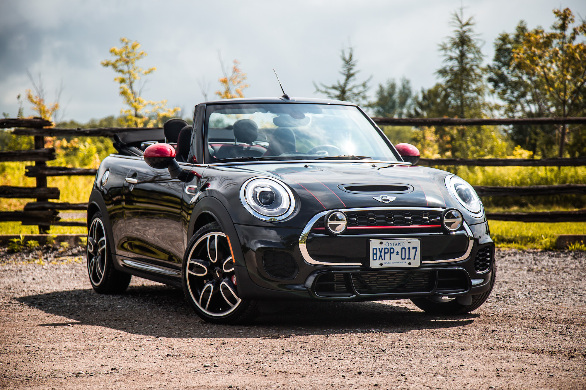 Review 2017 Mini John Cooper Works Convertible Canadian Auto Review