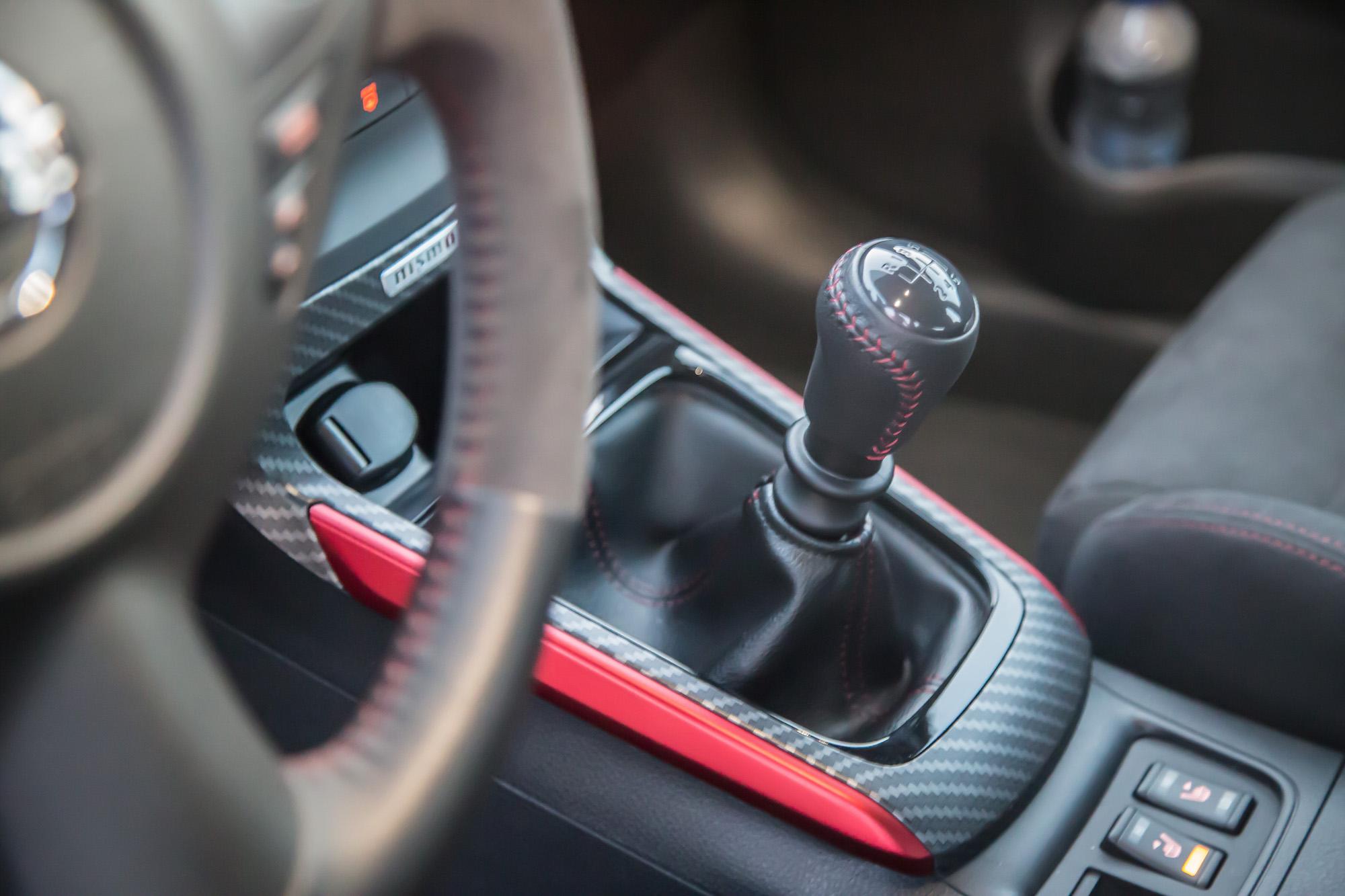 2017 nissan sentra sr turbo manual transmission