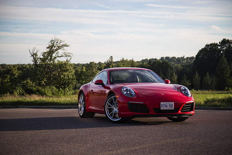 2017 Porsche 911 Carrera chinese review canada