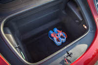 2017 Porsche 911 Carrera trunk with shoes