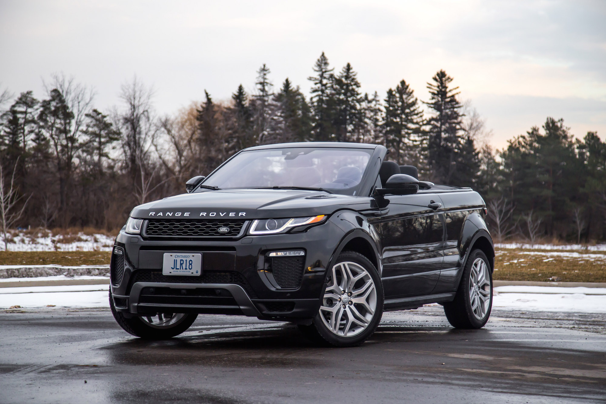 Range Rover Convertible Price >> Review: 2017 Range Rover Evoque Convertible | Canadian ...