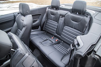 Range Rover Evoque Convertible rear seats
