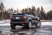 Range Rover Evoque Convertible rear view