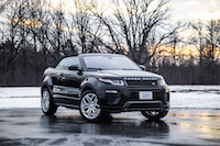 Range Rover Evoque Convertible narvik black paint