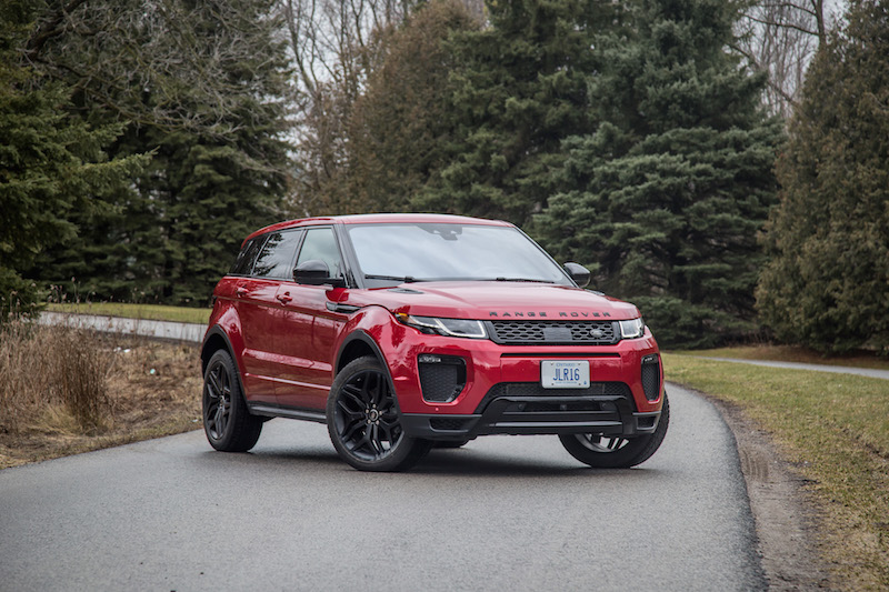 review 2017 range rover evoque hse dynamic canadian auto review. Black Bedroom Furniture Sets. Home Design Ideas