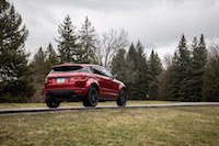 2017 Range Rover Evoque HSE Dynamic red