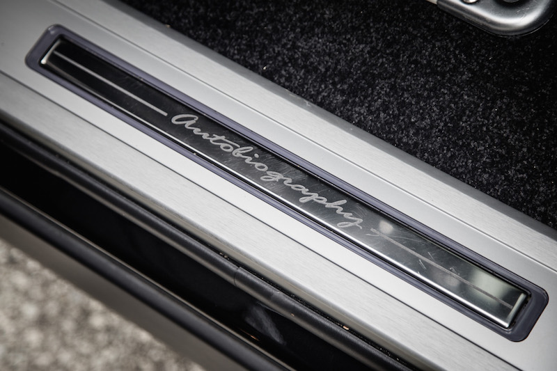 2017 Range Rover LWB Autobiography door sill badge