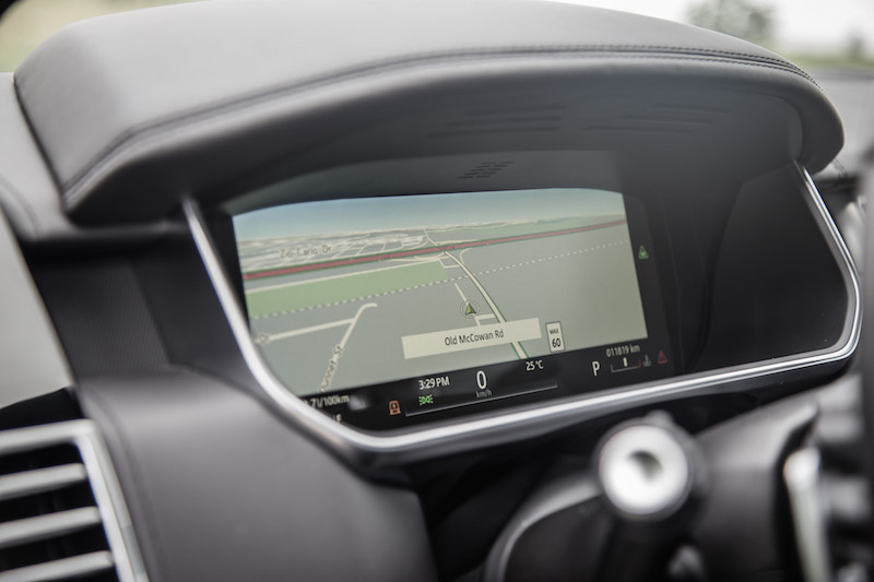 2017 Range Rover LWB Autobiography fullscreen map virtual cockpit