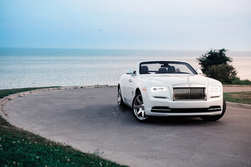 2017 Rolls-Royce Dawn Inspired By Fashion white paint