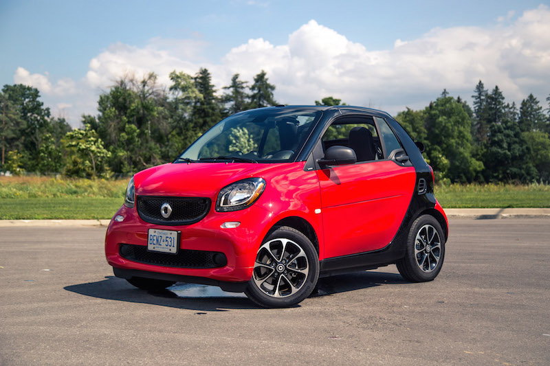 2017 smart fortwo cabrio red paint canada