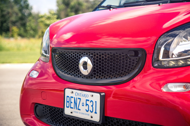 2017 smart fortwo cabrio front grill