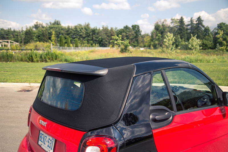 2017 smart fortwo cabrio fabric black roof